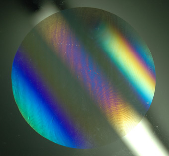 Holographic Solar Element