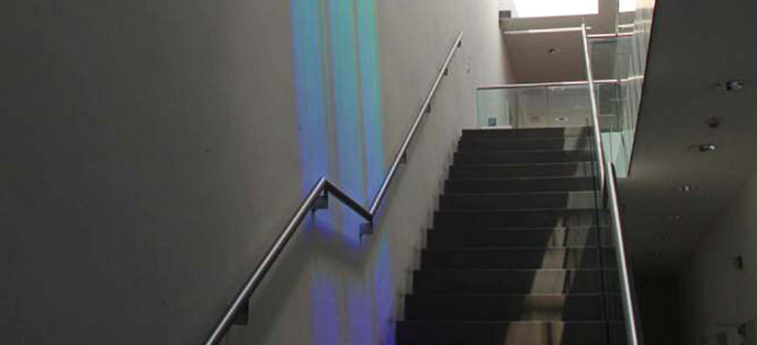 Holographic architectural lighting